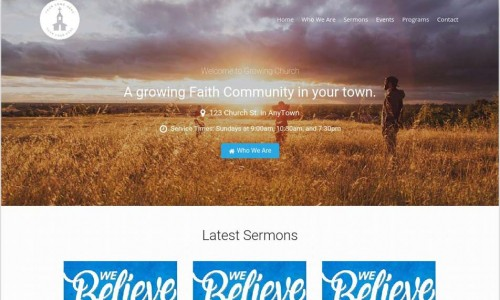 The story behind our new Church WordPress Theme