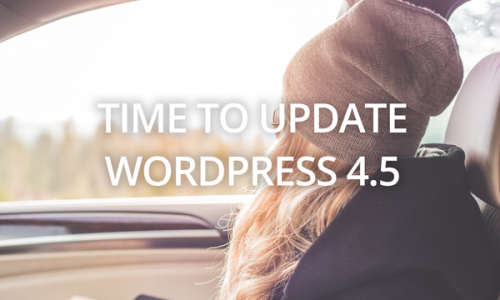 Time to update! WordPress 4.5 is here (and MP Stacks 1.0.4.9)