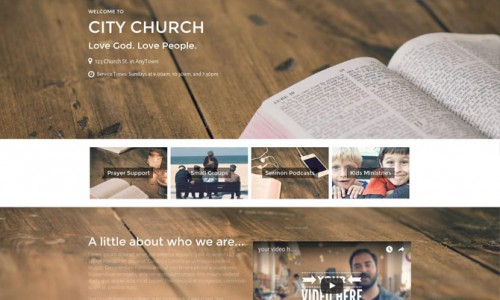 Our newest Church Theme for WordPress