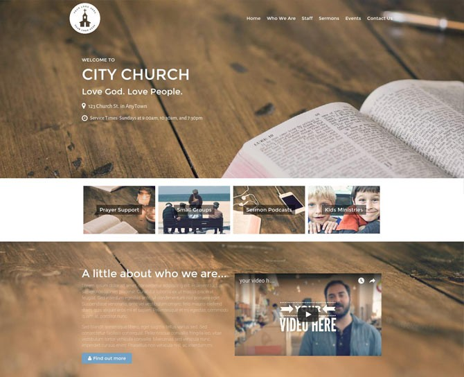 Restore Church Theme Bundle