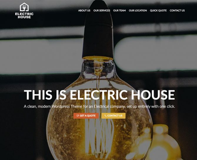 Electrician Theme Bundle